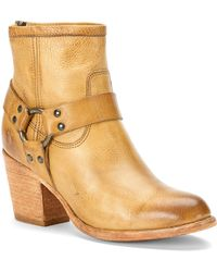 Frye Booties - Tabitha Harness High Heel - Lyst