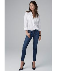 Velvet By Graham & Spencer Toni Skinny Jean in Classic - Lyst
