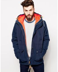 Asos 2 in 1 Hooded Jacket - Lyst