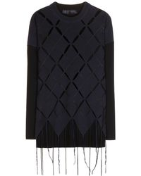 Proenza Schouler Crewneck Knitted Sweater - Lyst