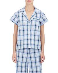 Steven Alan - Women's Piped Pyjama Shirt - Lyst