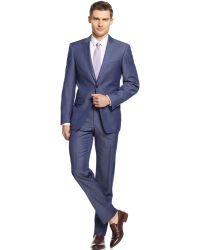 Calvin Klein X Denim Blue Extra-Slim-Fit Suit - Lyst