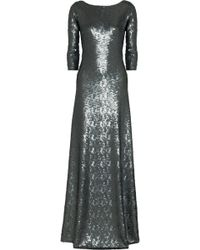 Marc Jacobs Openback Sequined Gown - Lyst