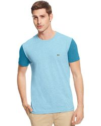 Lacoste Big and Tall Colorblocked T-shirt - Lyst