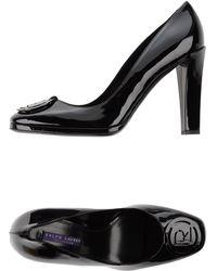 Ralph Lauren Collection Court black - Lyst