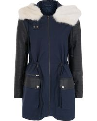 French Connection - Rhumba Escape Parka - Lyst