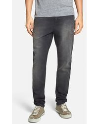 Cheap Monday 'Dropped' Slouchy Slim Fit Jeans gray - Lyst