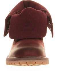 Timberland Authentic Suede Roll Top - Lyst