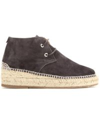 Rag & Bone Geneva Espadrille Suede Ankle Boots - Lyst