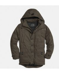 coach boots outlet h5rn  COACH  Summit Down Parka  Lyst