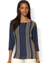Lauren by Ralph Lauren Dolman Sleeved Sweater - Lyst