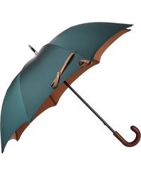 Barneys New York Twill Stick Umbrella - Lyst