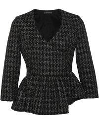 Kalmanovich - Asymmetrical Lurex Jacket - Lyst