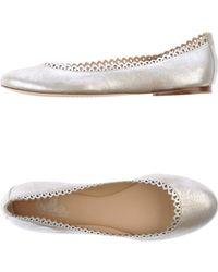 Belle By Sigerson Morrison Ballet Flats - Lyst