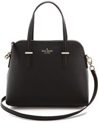 Kate Spade Cedar Street Maise Cross Body Bag Black - Lyst
