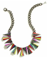 Sarah Magid Prankster Necklace Neon - Lyst