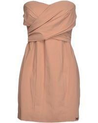 Elisabetta Franchi Short Dress - Lyst
