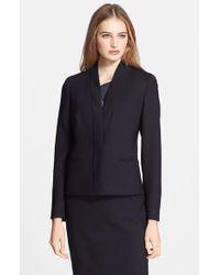 Max Mara Women'S 'Holly' Double Crepe Jacket - Lyst