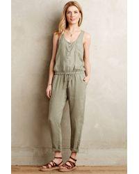 Cloth & Stone | Drawstring Jumpsuit | Lyst