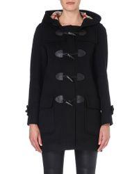 Burberry Minstead Wool Duffle Coat - Lyst