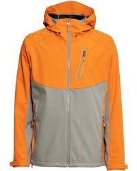 H&M Softshell Jacket orange - Lyst
