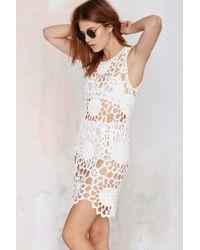 Nasty Gal Fleur Crochet Dress - Lyst