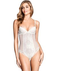 H&M White Lace Body - Lyst