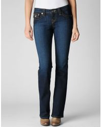 True Religion Womens Originals Becky Bootcut Jean - Lyst