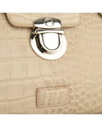 Osprey London - Tango Croc Leather Clutch Bag - Lyst