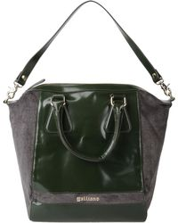 John Galliano Green Handbag - Lyst