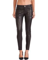 J Brand Cassidy Leather Jean - Lyst