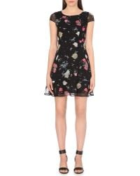 French Connection Nightfall Scoop Neck Dress - Lyst