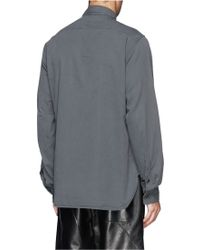 1.61 - Well Washed Twill Shirt - Lyst
