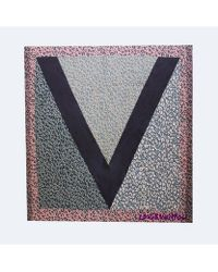 Louis Vuitton | Pre-owned Multi Colored V Scarf | Lyst