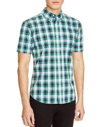 Jack Spade - Caufield Plaid Short-sleeved Shirt - Lyst