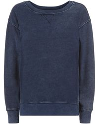 Current/Elliott Stadium Side Zip Sweatshirt - Lyst