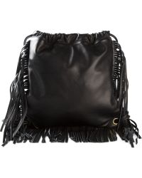 Sara Battaglia - Fringed Backpack - Lyst