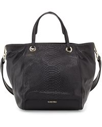 See By Chloé Ivy Snake-embossed Leather Tote Bag - Lyst