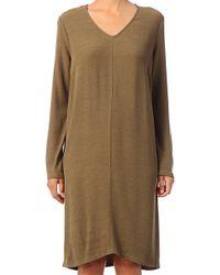 American Vintage Tshirt Dress Holi137bh14 - Lyst