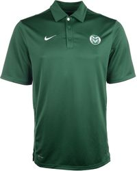 Nike Mens Short Sleeve Colorado State Rams Reckoning Polo - Lyst