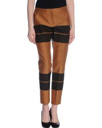 A.L.C. Brown Casual Pants - Lyst