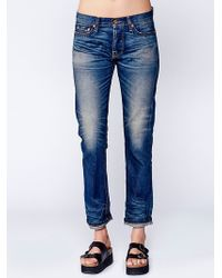 Free People | Nsf Womens Owen Relaxed Straight Leg | Lyst