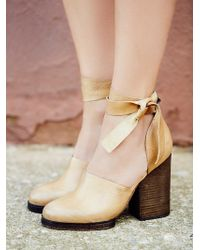Free People Womens Cora Wrap Heel - Lyst