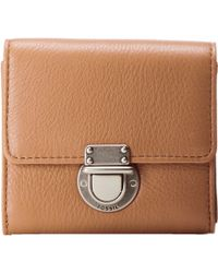 Fossil Riley Small Flap brown - Lyst