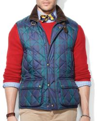 Ralph Lauren Polo Epson Quilted Vest - Lyst