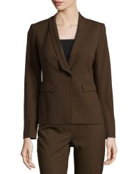 Lafayette 148 New York Ashley Shawl-collar Jacket - Lyst