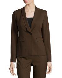 Lafayette 148 New York Ashley Shawl-Collar Jacket - Lyst