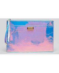 McQ by Alexander McQueen Clutch - Razor Edge Laser Hologram Tech - Lyst