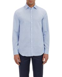 Armani Basketweave Shirt - Lyst