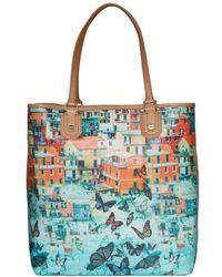 Alice + Olivia Veronica Printed Tote Bag - Lyst